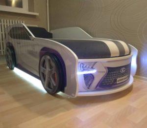Кровать машина Джип фото