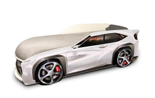 Кровать-машина-Джип-серый-Lexus