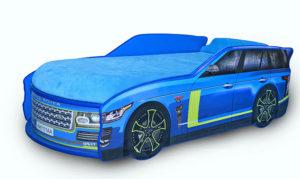 Кровать-машина-Джип-синяя-Range-Rover