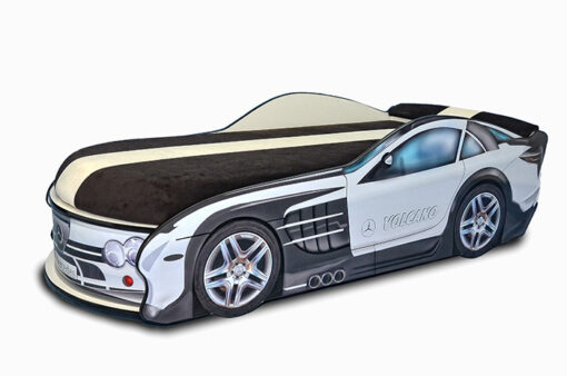 Кровать-машина-Mercedes-белая