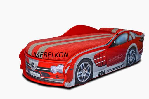 Кровать-машина-Mercedes-красная