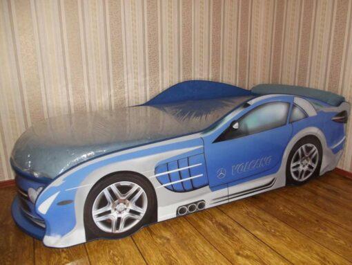 Кровать машина Mercedes реальное фото
