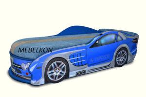 Кровать-машина-Mercedes-синяя