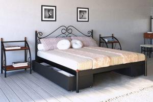 Кровать-Адель-Металл-Дизайн