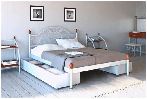 Металлическая кровать Франческа Металл-Дизайн