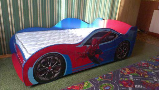 Кровать Спайдермен реальное фото