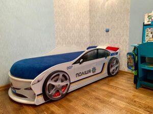 Кровать машина Полиция Украина фото