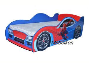 Кровать-машина-Спайдермен-Mebelkon