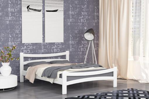 Деревянная кровать Деметра Мекано белая