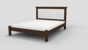 Деревянная-кровать-Дионис-Мекано-темный-орех