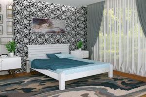 Кровать Гефест белая