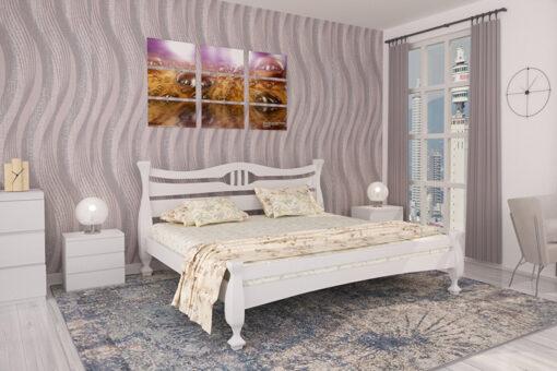 Кровать Кронос белая