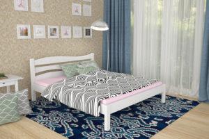 Кровать Посейдон белая