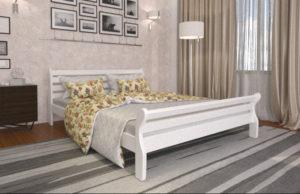 Кровать-Аркадия-Мекано-белая