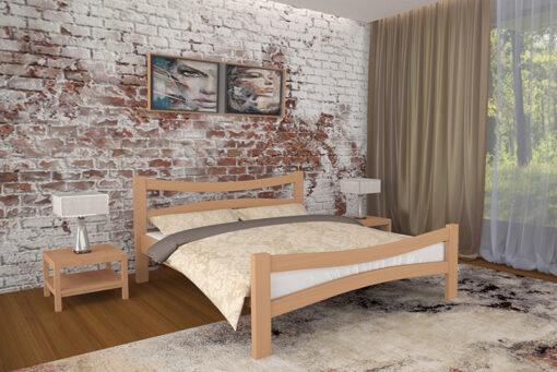Кровать Деметра светлый орех