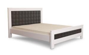 Кровать-Диана-Mecano-белая-с-черным-изголовьем