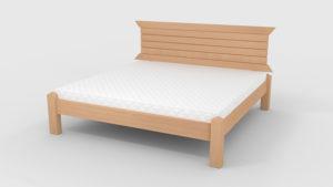 Кровать Гефест светлый орех