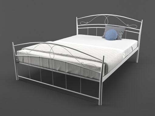 Кровать-Селена-двуспальная-белая-Melbi