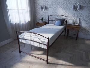Кровать-Селена-односпальная-бордо-Melbi