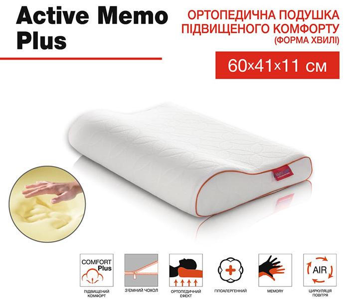 Подушка-Active-Memo-Plus-ТМ-Матролюкс-характеристики