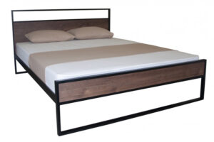 Кровать-Астра-Вуд-металлическая-Melbi