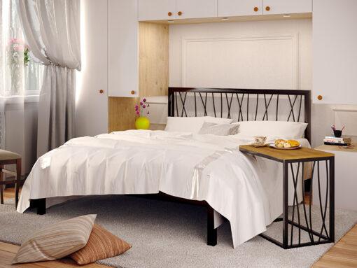Кровать-Bergamo-со-столом-Метакам