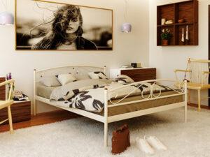 Кровать-из-металла-Verona-2-с-изножьем-Метакам