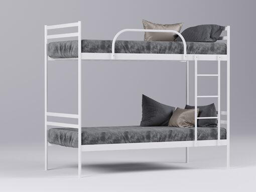 Кровать Comfort Duo белая Метакам