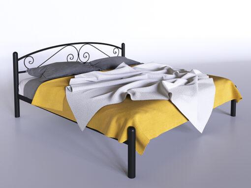 Кровать Виола двухспальная Тенеро металлическая