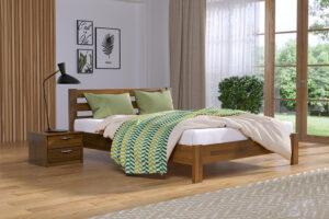 Кровать Рената Люкс цвет 103 светлый орех