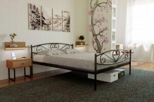 Кровать Милана с изножьем Метакам