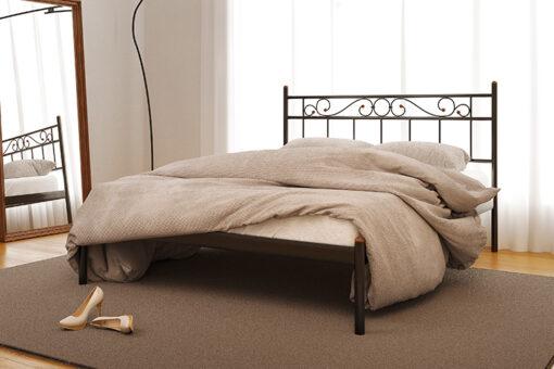 Металлическая кровать Эсмеральда без изножья Метакам