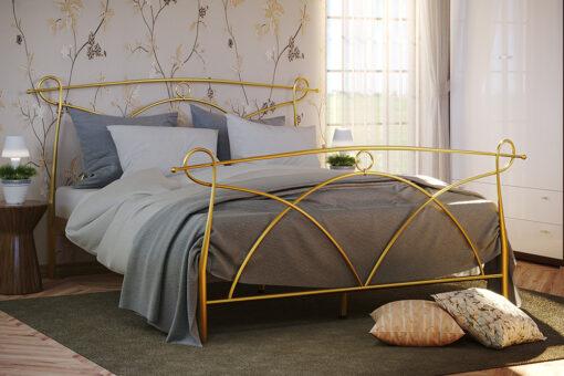 Металлическая кровать Флоренция с изножьем Метакам