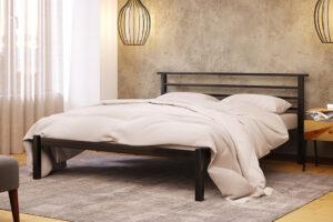 Металлическая кровать Лекс Lex без изножья Метакам