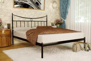 Металлическая кровать Paris Париж без изножья Метакам