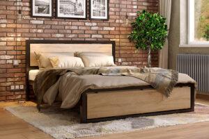 Металлическая кровать Техас Метакам