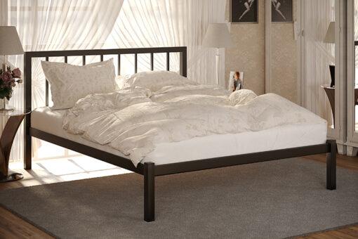 Металлическая кровать Турин без изножья Метакам