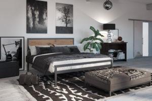 Металлическая кровать Герар Тенеро