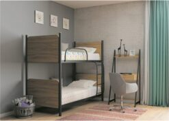 Кровать Арлекино двухъярусная Металл-Дизайн