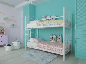 Кровать Диана двухъярусная Металл-Дизайн
