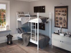 Кровать Ирис Дуо двухъярусная металлическая