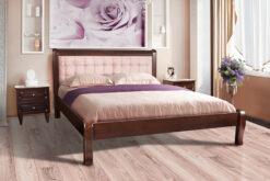 Деревянная кровать Соната Микс-мебель