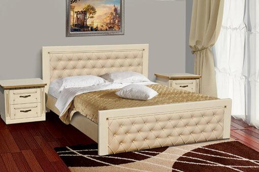 Кровать Фридом слоновая кость Микс-Мебель
