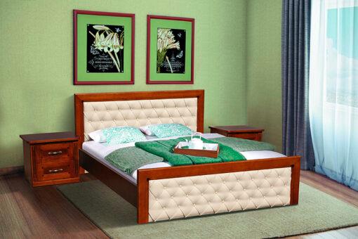 Кровать Фридом цвет орех Микс-Мебель