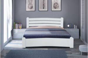 Кровать Сабрина белая Микс-мебель