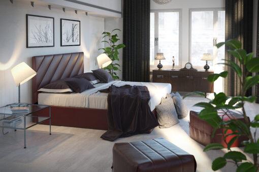 Кровать-подиум Шеридан Sentenzo