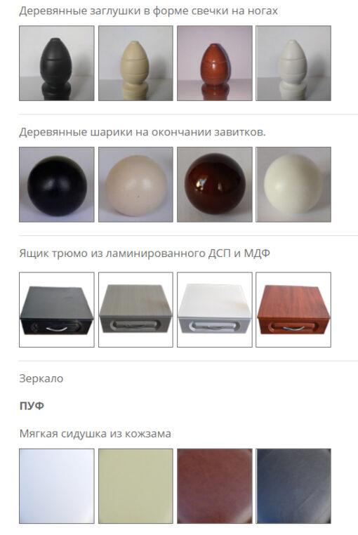 Фурнитура на трюмо Металл-Дизайн
