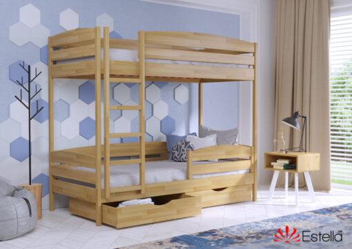 Кровать Дуэт Плюс цвет 102 бук